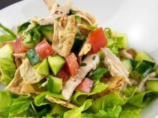 Salata od šampinjona i piletine