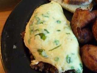 Hleb u omletu