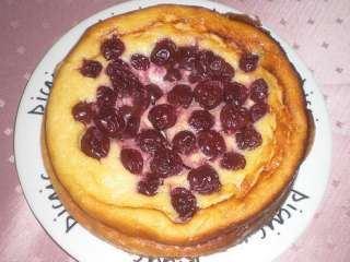 Domaći voćni kolač sa višnjama