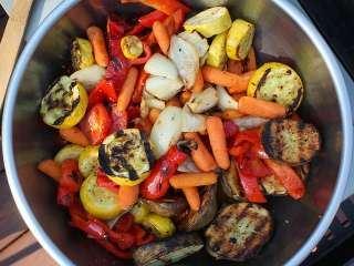 Pikantno povrće sa grila