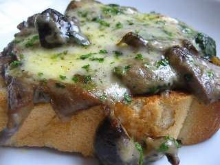 Gljive na tostu