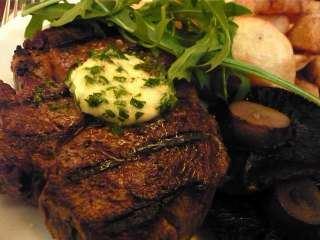 Biftek preliven krem sirom sa ruzmarinom