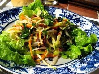 Zelena salata sa jabukom