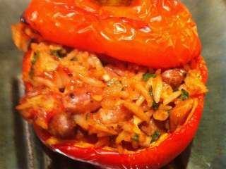Paprike punjene pasuljem