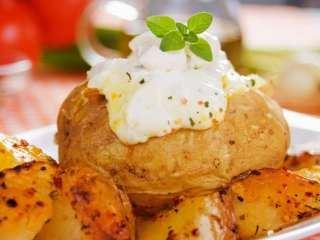 Krompir sa kajmakom