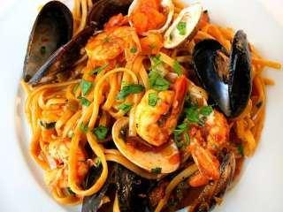 Špagete sa morskim plodovima