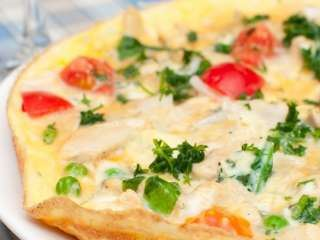 Omlet sa paprikom i paradajizom