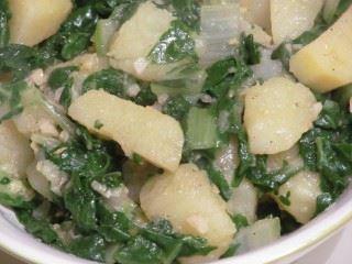 Krompir sa blitvom