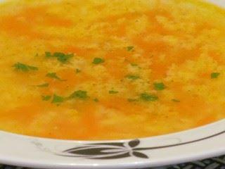 Supa od šargarepe