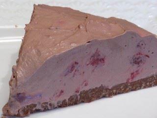 Cheesecake čokolada i jagode